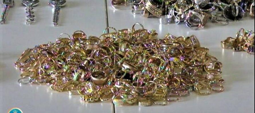 სარფში დიდი ოდენობით არადეკლარირებული ოქროსა და ვერცხლის ნაკეთობები გამოავლინეს