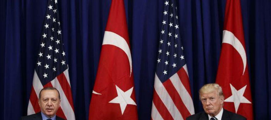 """თურქეთი აშშ-სგან მოითხოვს თავი შეიკავოს """"ასიმეტრიული ურთიერთობებისგან"""""""