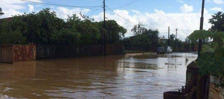 ადიდებული მდინარეების კალაპოტში დაბრუნებას სამშენებლო ტექნიკით ცდილობენ