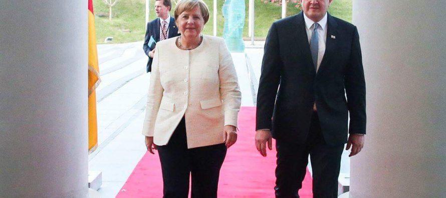 გაყოფილი გერმანია ძლიერი, ერთიანი ერი გახდა, ჩვენ საქართველოსთვის იმავე მომავალს ვიმედოვნებთ