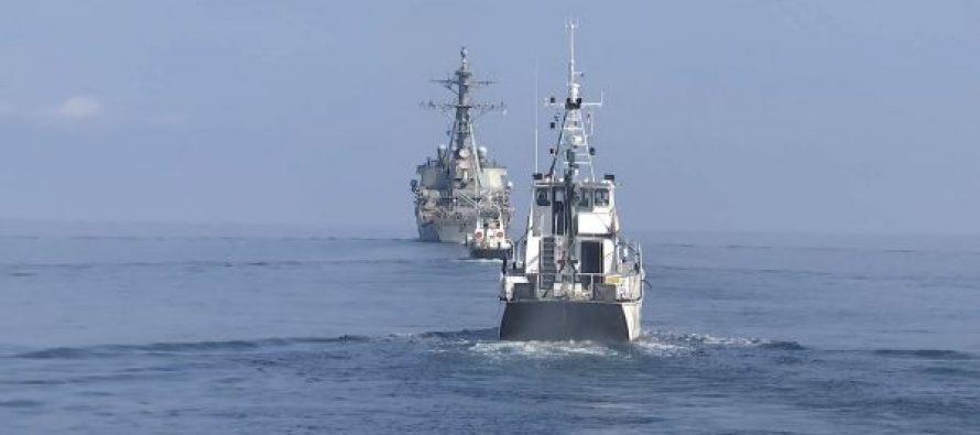 შავ ზღვაზე საქართველოს სასაზღვრო პოლიციისა და აშშ-ს სამხედრო-საზღვაო ძალების ერთობლივი საზღვაო წვრთნები ჩატარდა