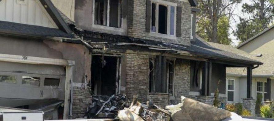 აშშ-ში ცოლთან ჩხუბის შემდეგ მამაკაცი თვითმფრინავით საკუთარ სახლს დაეჯახა