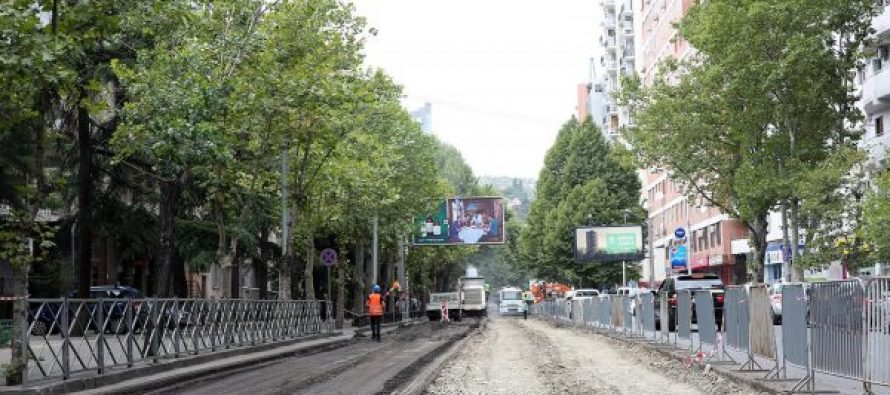 შარტავას ქუჩას კაპიტალური რეაბილიტაცია ჩაუტარდება და ველობილიკით პეკინის გამზირს დაუკავშირდება