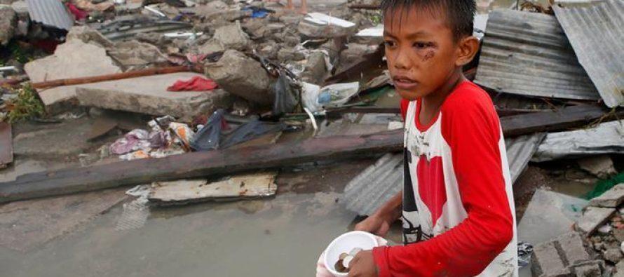ტაივანსა და ფილიპინებში ძლიერი ქარიშხალია (ფოტო)