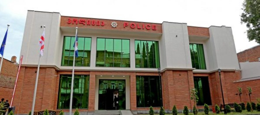გიორგი გახარიამ თბილისში, გოგოლის ქუჩაზე პოლიციის ახალი შენობა გახსნა