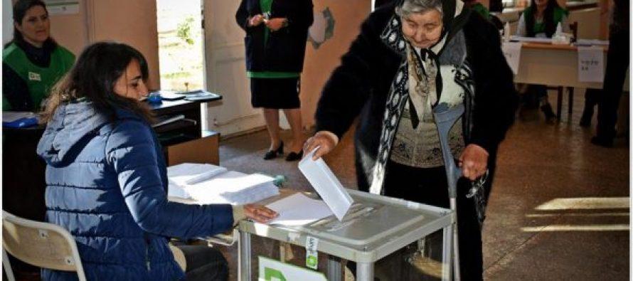 სამოქალაქო თვითშეგნება-სამამულო ომის მონაწილე 90 წლის ქალბატონი არჩევნებზე