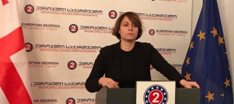 """ელენე ხოშტარია : აბაშიძე-კარასინის მოლაპარაკებების ფორმატი """"საშიში და მავნებლურია"""""""