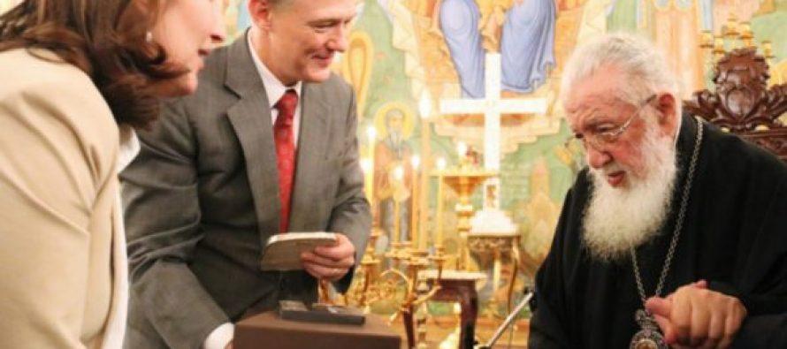 ჯორჯ კენტი – მე ვარ საქართველოში როგორც საქართველოს მეგობარი და მივესალმებით დიალოგსა და თანამშრომლობას ეკლესიასთან