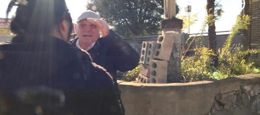 """""""ოდიშის"""" გადამღებ ჯგუფს გადაღების საშუალება არ მისცეს და სიტყვიერად დაუპირისპირდნენ (VIDEO)"""