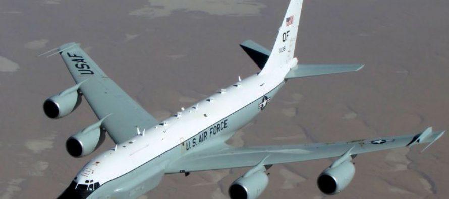 აშშ-ის სადაზვერვო თვითმფრინავმა ოკუპირებული აფხაზეთის სანაპიროს პირველად გადაუფრინა