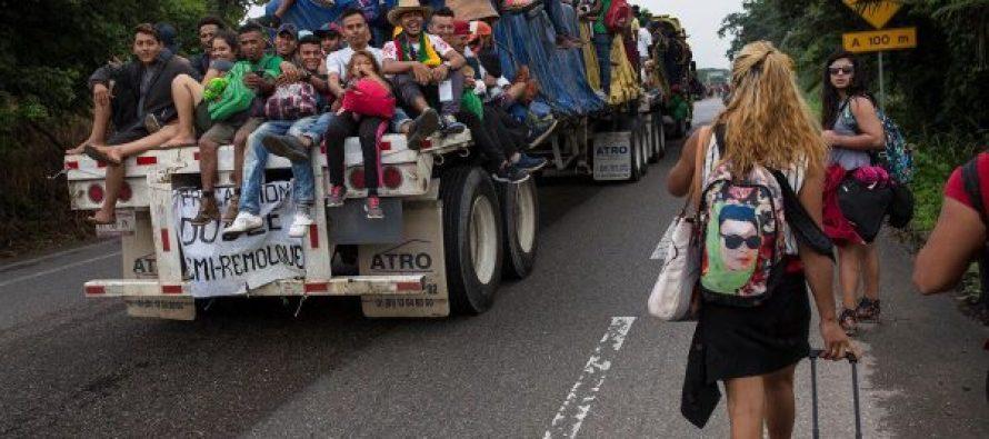 ლგბტ მიგრანტების ქარავანი ცალკე მიემართება აშშ-სკენ (ფოტო)