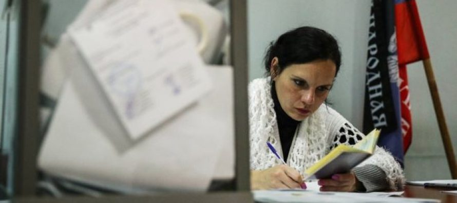 დე- ფაქტო დონეცკის და ლუგანსკის რესპუბლიკებში არჩევნებია-მათ არავინ აღიარებს