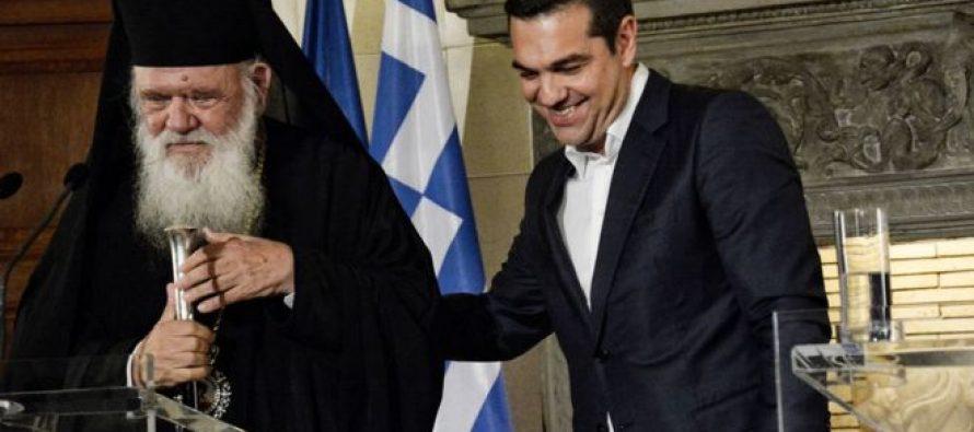 საბერძნეთი ეკლესიის მსახურებს სახელმწიფო მოხელის სტატუსს შეუჩერებს