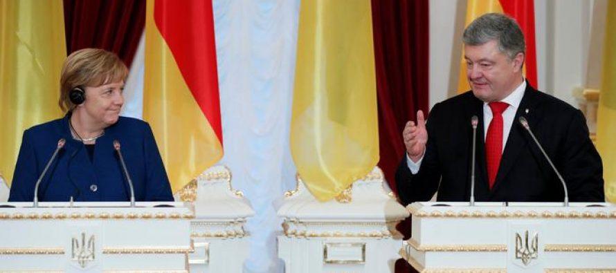 მერკელი თვლის, რომ რუსეთის წინააღმდეგ სანქციების გაგრძელება აუცილებელია