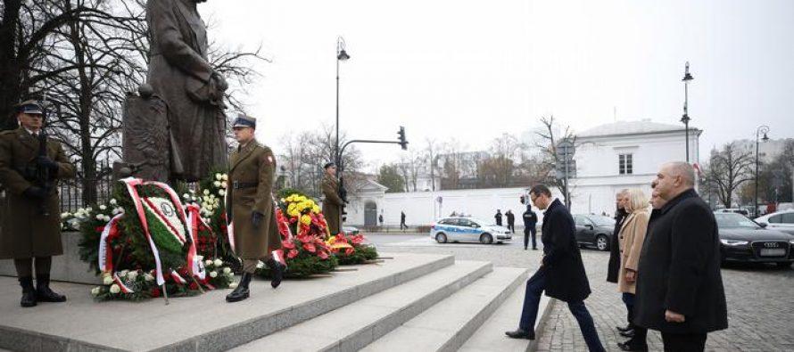 პოლონეთი დამოუკიდებლობის აღდგენის 100 წლისთავს ზეიმობს