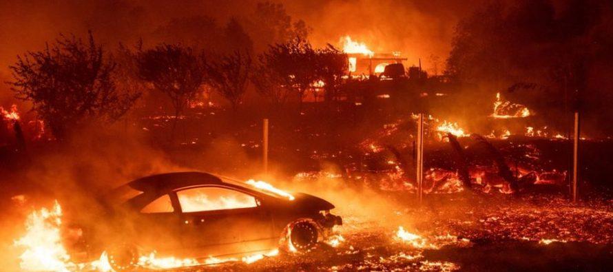 კალიფორნიაში ქალაქი პარადაისი დაიწვა, მალიბუდან კი ხალხი გაიყვანეს (ფოტო)