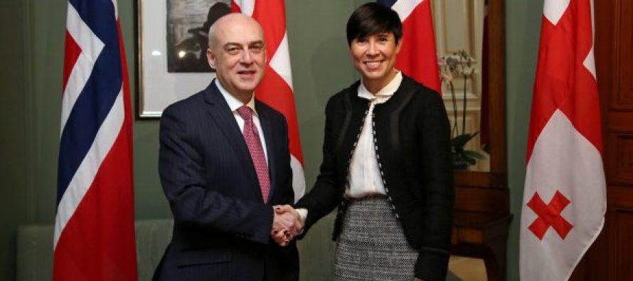 საქართველოში ნორვეგიის საელჩოს გახსნა კარგი სიგნალია ნორვეგიული ბიზნესისთვის – ნორვეგიის საგარეო საქმეთა მინისტრი