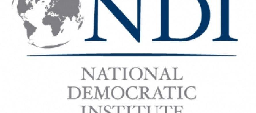 NDI-ის გამოკითხვის პოლიტიკური ნაწილი დღეს გახდება ცნობილი