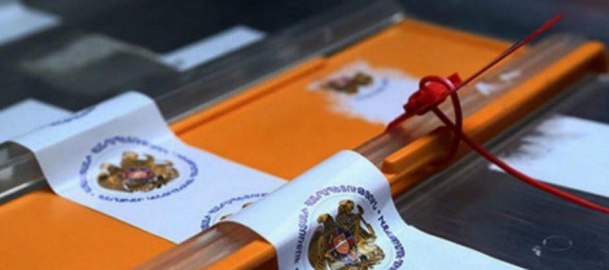 სომხეთში საპარლამენტო არჩევნები დასრულდა