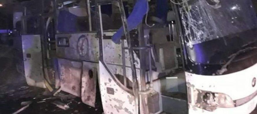გიზას პირამიდასთან ტურისტების ავტობუსი ააფეთქეს