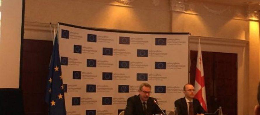 ევროკავშირმა საქართველოში რეფორმების მხარდასაჭერად 110 მილიონი ლარი გამოყო