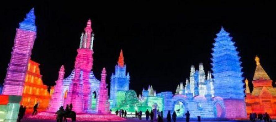 ჩინეთში ყინულის არქიტექტურის ფესტივალი დაიწყო