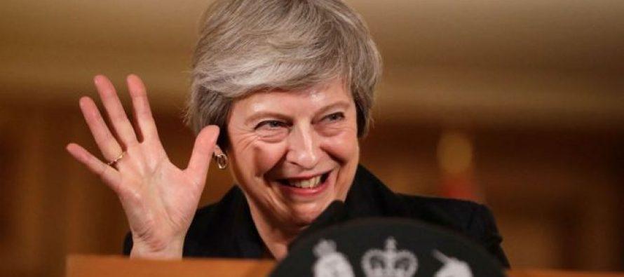 """ბრიტანეთის პარლამენტმა მეის """"ბრექზიტის"""" გეგმა არ მიიღო"""