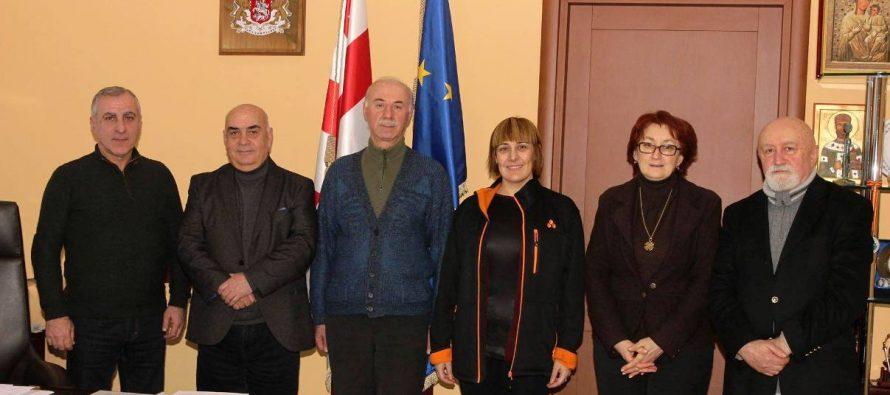 ვახტანგ ყოლბაია ხელოვნების საერთაშორისო საბჭოს არგენტინის პრეზიდენტ ბარბარა ტომფსონ ვიუს შეხვდა