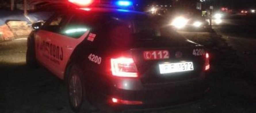 გელოვანის გამზირზე ავარიის შედეგად 30-წლამდე ასაკის მამაკაცი დაშავდა