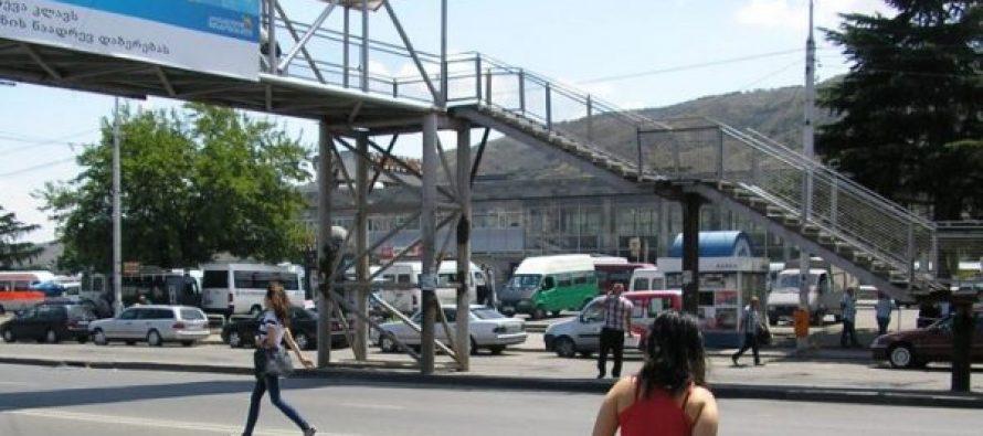 თბილისში 19 საფეხმავლო ხიდის დემონტაჟი განხორციელდება და სანაცვლოდ ე.წ. ზებრა გადასასვლელი მოეწყობა