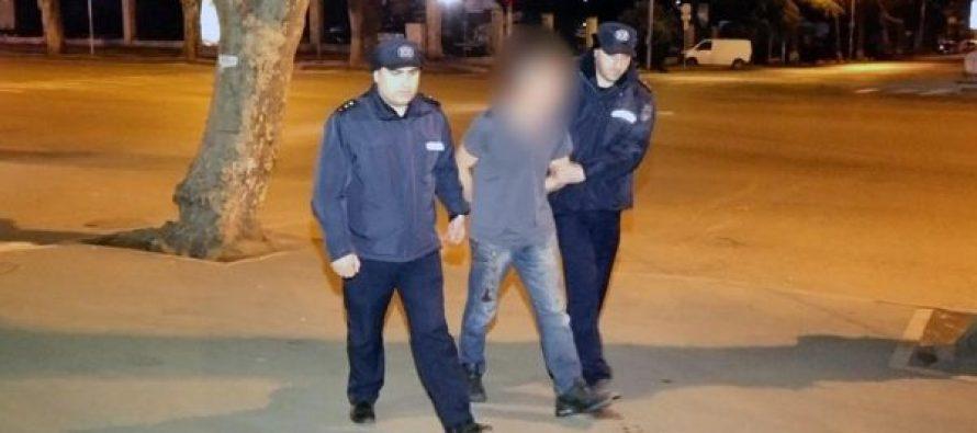 თბილისში, ხოშარაულის ქუჩაზე, ყოფილ მეუღლის დაჭრაში ბრალდებული ყაზბეგში დააკავეს