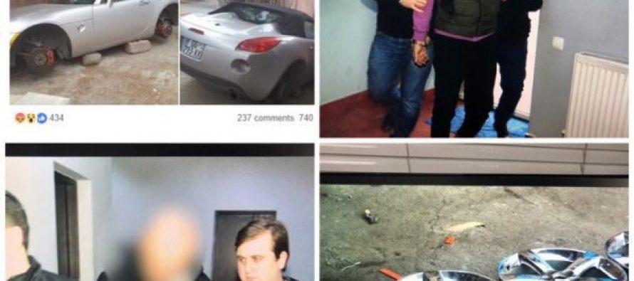 პოლიციამ მაია ბიჭიკაშვილის კუთვნილი ავტომანქანიდან საბურავების მოპარვისთვის ორი პირი დააკავა