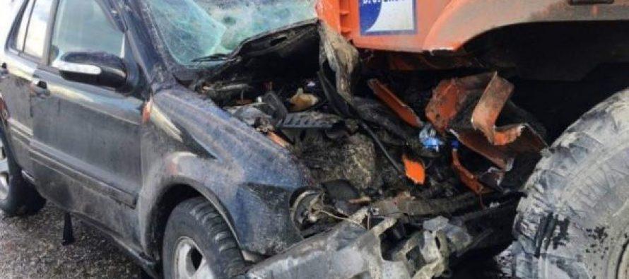 ზედაეწერში ავტოსაგზაო შემთხვევის შედაგად ორი ადამიანი გარდაიცვალა