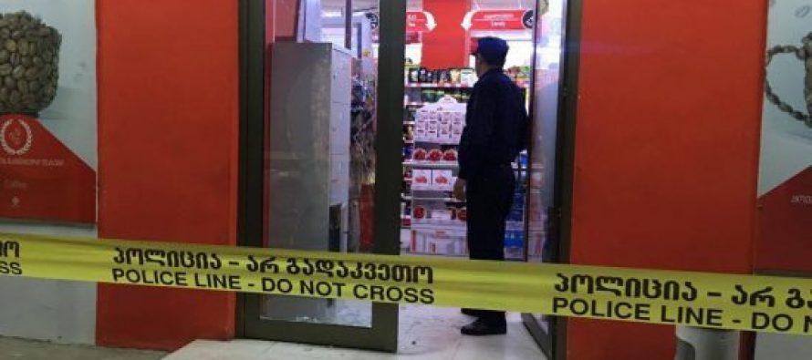 """ორმა ნიღბიანმა სენაკში მაღაზია """"მაგნიტი"""" დააყაჩაღა-წაღებულია 2 ცალი შოკოლადი"""