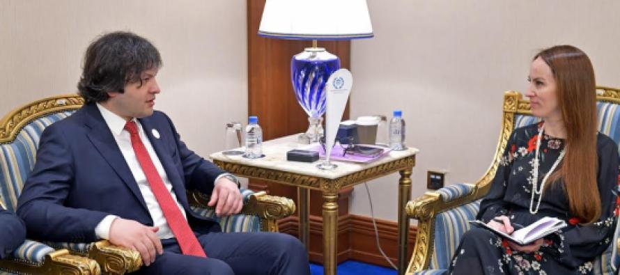 ირაკლი კობახიძე საერთაშორისო საპარლამენტო კავშირის პრეზიდენტს შეხვდა