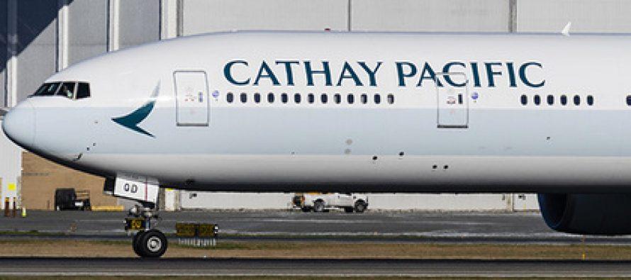 ავიაკომპანია Cathay Pacific-ის პილოტი დაშვებამდე ერთი საათით ადრე ცუდად გახდა