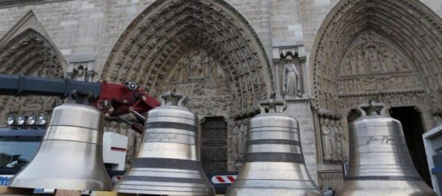 დღეს საფრანგეთში ასობით ეკლესიის ზარი ერთად დარეკავს ნოტრ-დამის პატივსაცემად