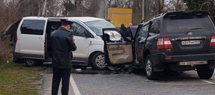 გუდაუთის რაიონში ავტოსაგზაო შემთხვევა მოხდა