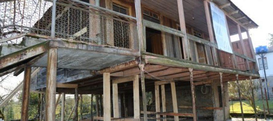 ხიბულაში ზვიად გამსახურდიას მემორიალური სახლის რეკონსტრუქცია დაიწყო (ფოტო)