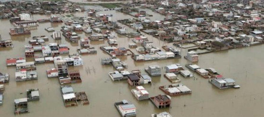 ირანში წყალდიდობის შედეგად 76 ადამიანი დაიღუპა