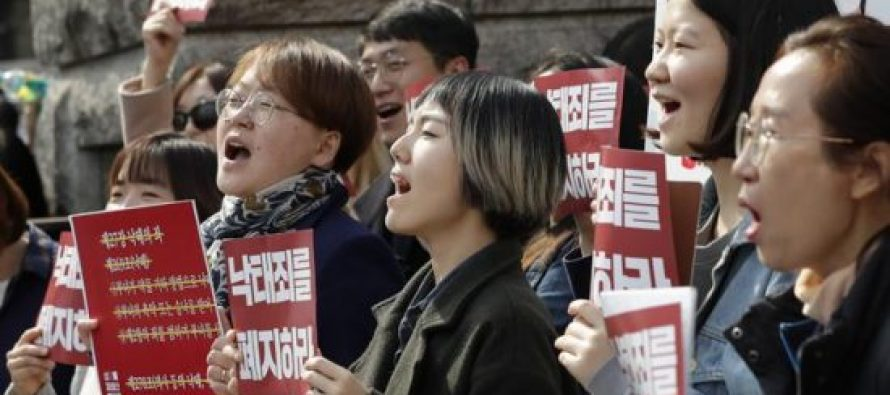სამხრეთ კორეაში თვლიან, რომ აბორტების აკრძალვა კონსტიტუციის დარღვევაა