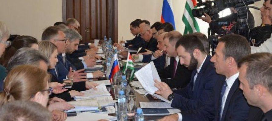 რუსულ-აფხაზურ შეხვედრაზე ინვესტირების საკითხები განიხილეს