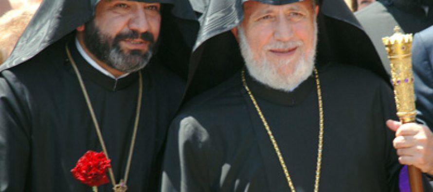 საქართველოში სომხური ეკლესიის წინამძღოლმა გადადგომის შესახებ განაცხადა
