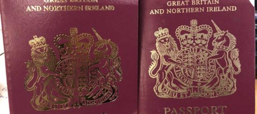 ბრიტანეთში ახალ პასპორტებს გასცემენ, სადაც ევროკავშირი არ არის ნახსენები
