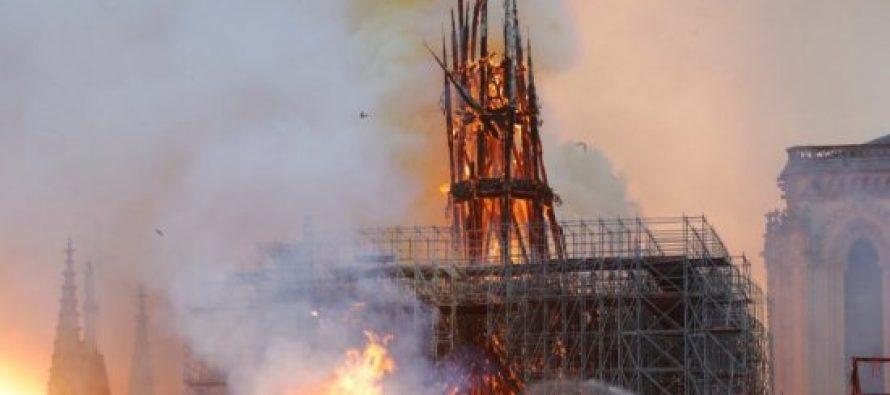 პარიზის ღვთისმშობლის ტაძრის აღსადგენად 24 საათზე ნაკლებ დროში 700 მილიონი ევრო შეაგროვეს