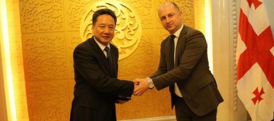 """""""საქართველოს რკინიგზის"""" გენერალური დირექტორი  დავით ფერაძე  ჩინეთის სახალხო რესპუბლიკის დედაქალაქ პეკინში იმყოფებოდა"""