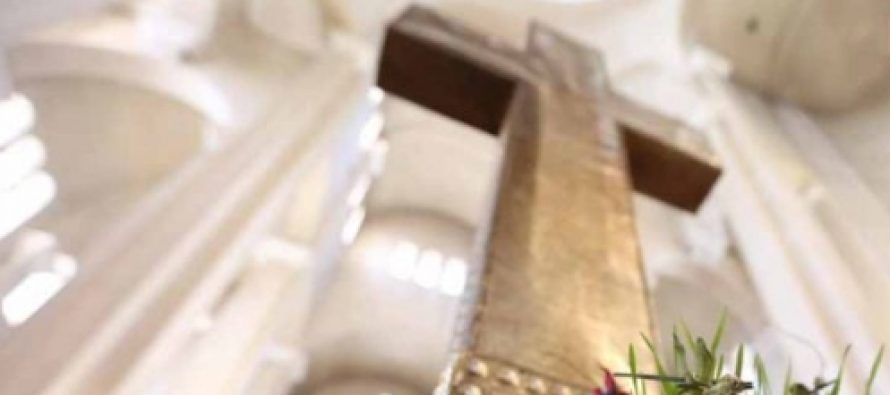 სამების საკათედრო ტაძარში გარდამოხსნის ტრადიციული წესი შესრულდა