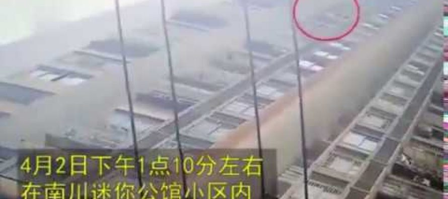 ჩინეთში 6 წლის ბავშვი 26-ე სართულიდან გადმოვარდა, ადგა და სვლა გააგრძელა (ვიდეო)
