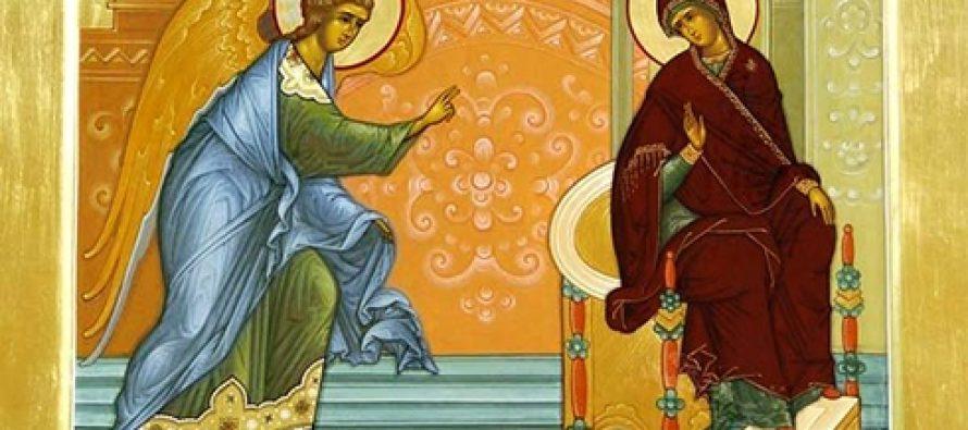 მართლმადიდებელი ეკლესია დღეს ხარების დღესასწაულს აღნიშნავს