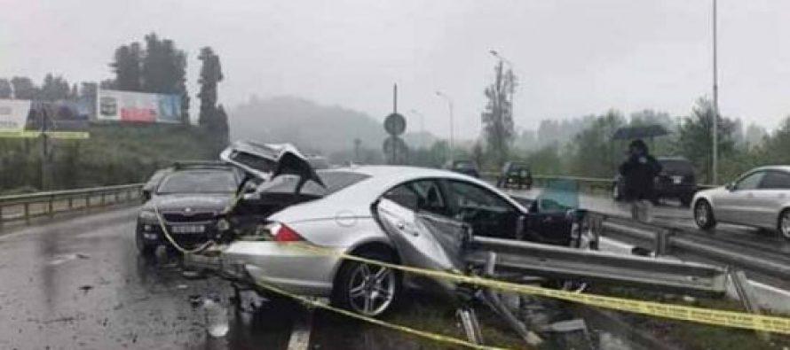 ბათუმი-ჩაქვის გვირაბთან ავარიის შედეგად ერთი ადამიანი მძიმედ დაშავდა